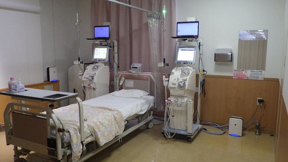 横須賀感染病室